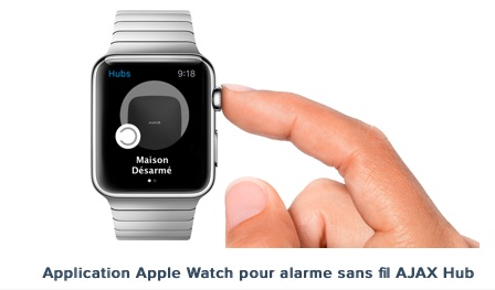 application AJAX apple watch