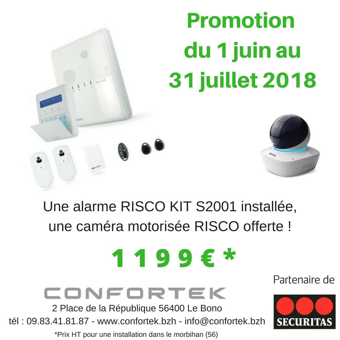 promotion alarme risco confortek